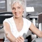 Bild Frau bei Muskulatur Training