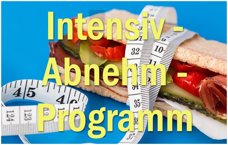 Bis zu 10 Kg abnehmen, in nur 14 Tagen – Abnehm intensiv Programm